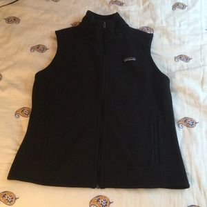 Black Patagonia sweater vest